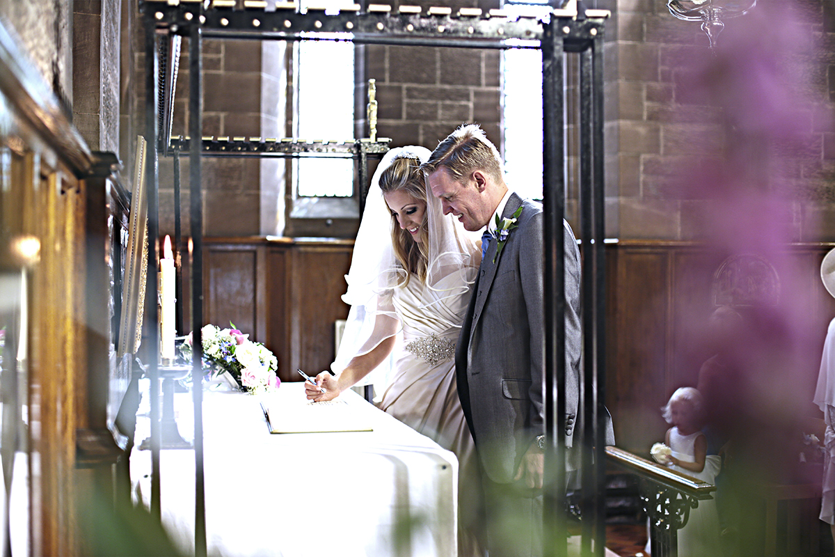 wedding photographer nantwich
